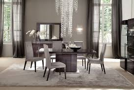 modern dining room curtain ideas rectangle black wood table teak