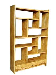 furniture interesting bookshelf room divider with wooden material