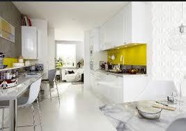 cuisine blanche ouverte sur salon cuisine blanche ouverte sur salon leroy merlin jpg 378 268