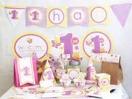 1st birthday party supplies butterfly 1st birthday decorations printable butterfly