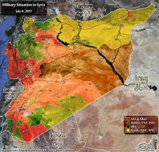 Beirut On Map Syrian Army Is On The Verge Of Retaking Central Syria Map