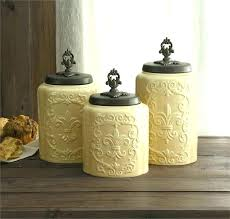 yellow kitchen canister set rustic kitchen canisters for storage mesmerizing canister set