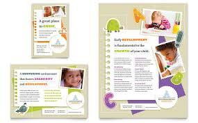 babysitting u0026 daycare flyer u0026 ad template design