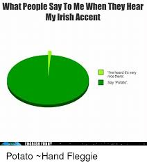 Funny Irish Memes - what people say to me when they hear my irish accent i ve heard it s