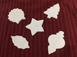 corn starch dough ornaments clabber