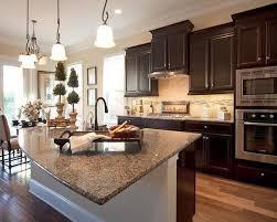 Kitchen Countertop Cabinets Best 25 Brown Granite Ideas On Pinterest Brown Granite