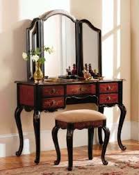 Antique Vanity With Mirror And Bench - best 25 vanity table set ideas on pinterest mirrored dressing