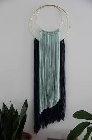 layered yarn wall hanging tapestry home decor wall hanging