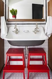 step stool for bathroom sink vintage bathroom photo by terracotta properties bathroom