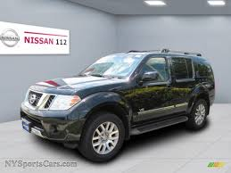 nissan 2008 pathfinder 2008 nissan pathfinder le v8 4x4 in super black 625005