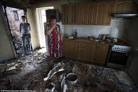 Inside Homes Inside Ukraine U0027s Homes Shattered By The Unofficial Civil War