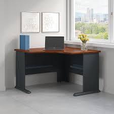 bush series a desk bush business furniture series a 48w corner desk in hansen cherry