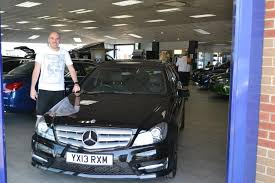 mercedes hull listers mercedes on mr shirley collecting his approved