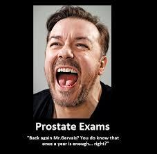 Prostate Meme - ricky gervais prostate exam imgur