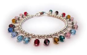 birthstone charm bracelet for free sterling silver charm bracelet when you purchase more than 10