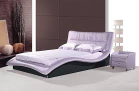 cool design european bed frame new madrid curved low designer faux