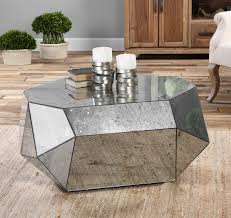 estelle mirrored coffee table coffee table adorable 30 mirrored coffee tables that add a sparkle