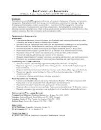 How To Write Summary Of Qualifications Resume Samples For Writing Professionals