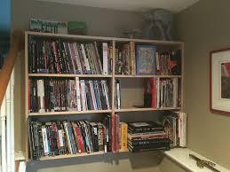 homemade graphic novel bookshelf album on imgur