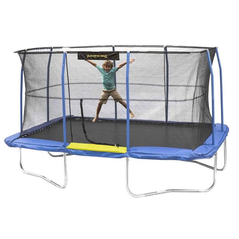 10 X 14-foot Enclosed Rectangular Outdoor Trampoline Jkrc1014c319