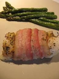 cuisiner la morue recettes de flipp filets de morue citronnée au romarin et bacon