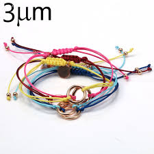 cord macrame bracelet images 5pcs adjustable wrap bracelet wax cotton cord braided macrame jpg