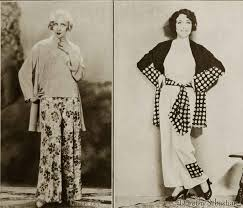 1930s fashion u2013 pyjama belles in november 1930 glamourdaze