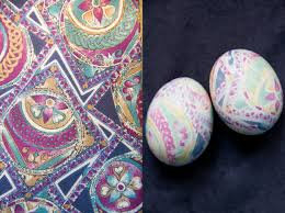 Decorating Easter Eggs With Silk by Diy Silk Tie Dyed Easter Eggs You Want Me To Buy That
