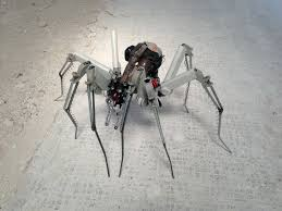 post apocalyptic cyber spider steam punk 2 made by hubcap