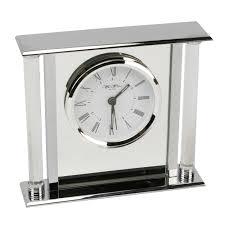 Bulova Valeria Mantel Clock Clocks Mahogany Radio Controlled Mantel Clocks For Home