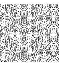 geometric pattern coloring pages adults printable 6917
