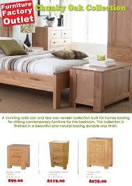Factory Outlet Bedroom Furniture Furniture Factory Outlet Chunky Oak Bedroom Price List