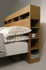 Storage Bed With Headboard Bed Headboard With Shelves Lamdepda Info