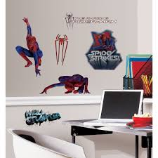 bedroom spiderman wall decor awesome spiderman wall decor