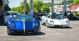 a pagani rally in italy puts all other car meets to shame