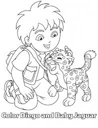 diego coloring pages pixelpictart com