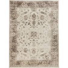 rugs home decorators collection home decorators collection old treasures beige 5 ft 3 in x 7 ft