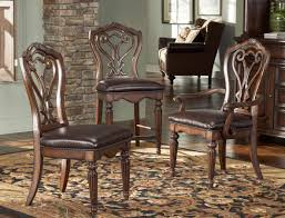american drew dining room american drew barrington house gathering chair with leather seat
