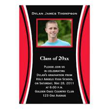 black and white graduation invitations u0026 announcements zazzle