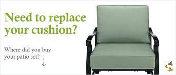 Patio Chair Cushion Replacements Unique Replacement Patio Chair Cushions For Outdoor Replacement 79