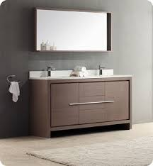 Double Sink Bathroom Vanity by Fresca Fvn8119go Allier 60