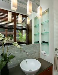 Glass Shelves For Bathrooms Sleek Functional And Versatile Glass Shelving Designs For Stylish