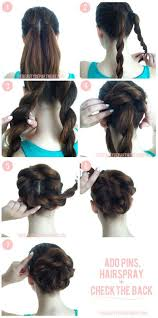 easy hairstyles with box fishtales really cool and looks easy all about the hair pinterest easy