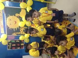 yellow colour day kidzee sector 100 noida hello parent