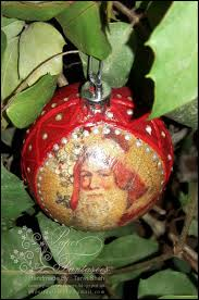 paper fantasees the craft blog christmas ornaments decoupage