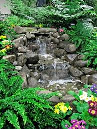 Backyard Waterfalls Ideas 15 Brick U0026 Rock Waterfall Designs To Make Your Neighbourhood Envy