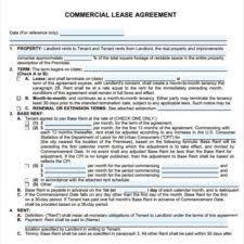 free editable lease form free lease contract agreement formal