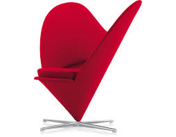 famous designer chairs verner panton heart chair hivemodern com