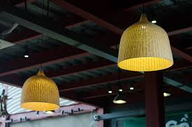 Yellow Light Fixture Free Images Architecture Roof Steel Ceiling Decoration