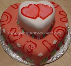 How To Decorate Heart Shaped Cake Romantic Homemade Valentine Cakes And How To Tips